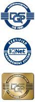 Die ABGS GmbH ist ISO 9001 und DIN SPEC 77224 zertifiziert