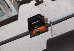 Infrarot-Messfühler Crowcon Nimbus in der Klärnlage Freiberg