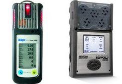 Handmessgeräte Dräger X-am 5600 und ISC MX 6