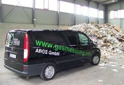 Gaswarnanlage für die neue Abfall-Umschlaghalle der RSAG