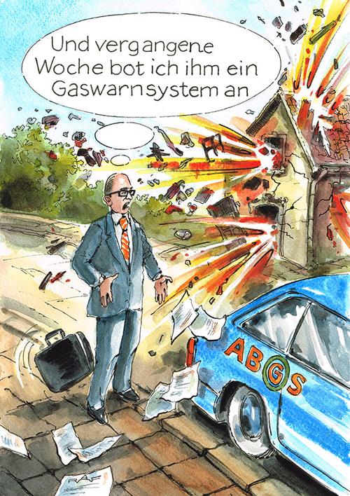 Gaswarnsysteme können Leben retten ...