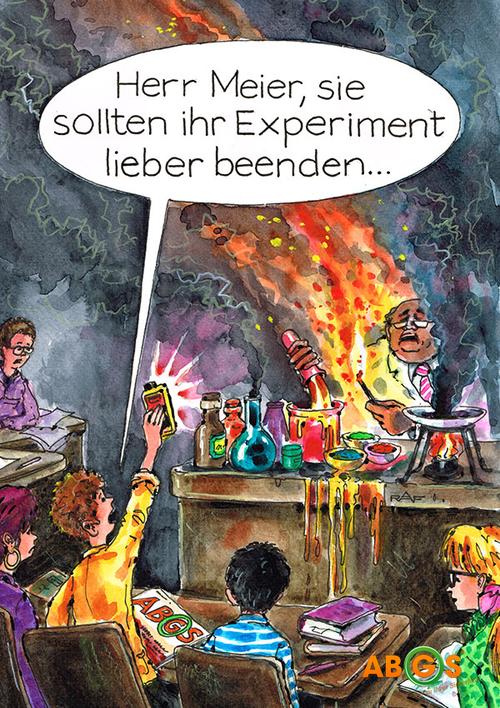 5 Jahre ABGS - Karikatur August 2013