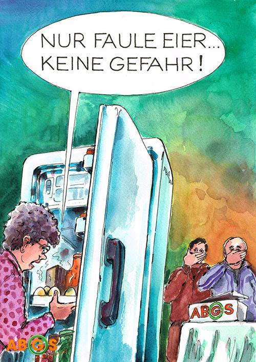 5 Jahre ABGS - Karikatur September 2013