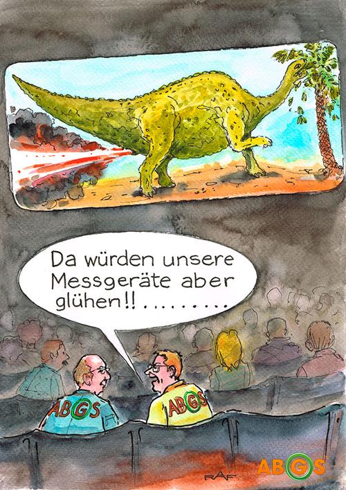 5 Jahre ABGS - Karikatur Oktober 2013