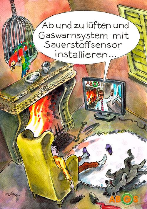 5 Jahre ABGS - Karikatur Dezember 2013